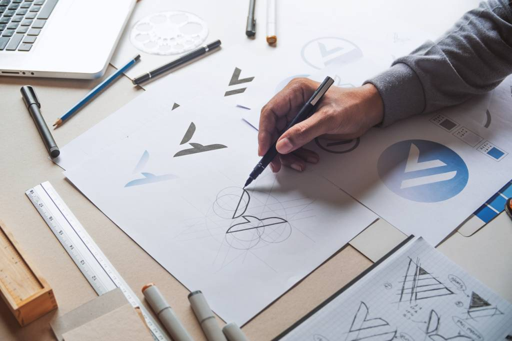logo vitrine conception entreprise