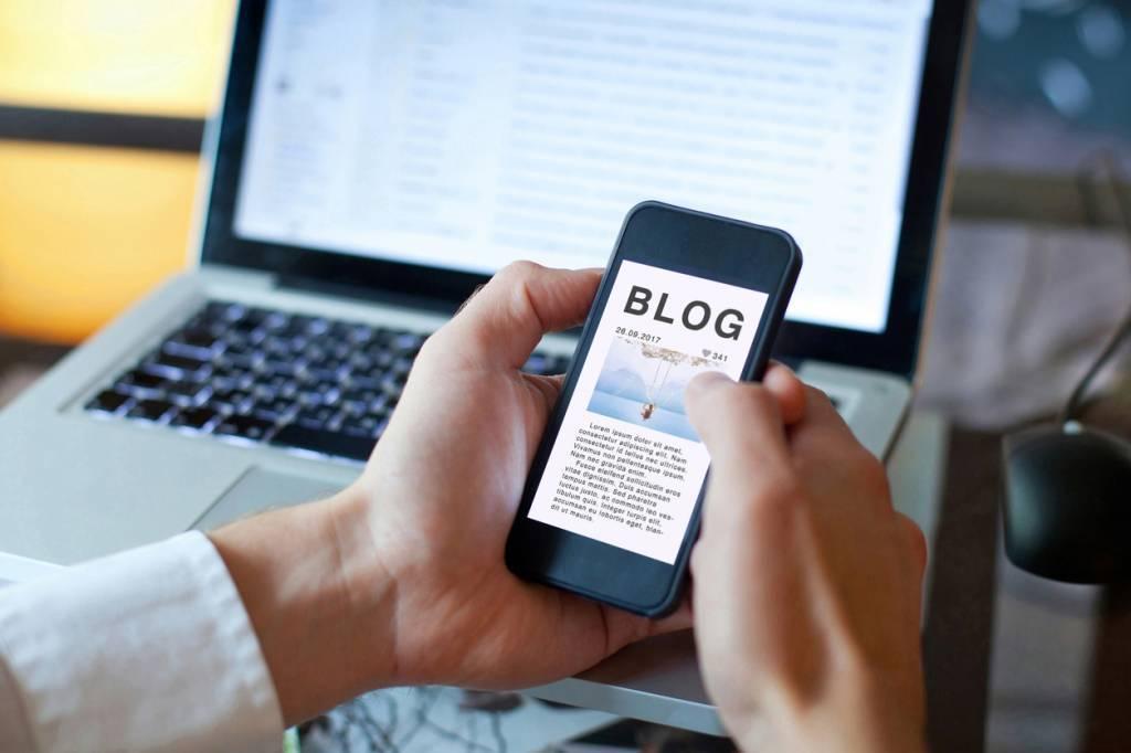 créer un blog sous Wix
