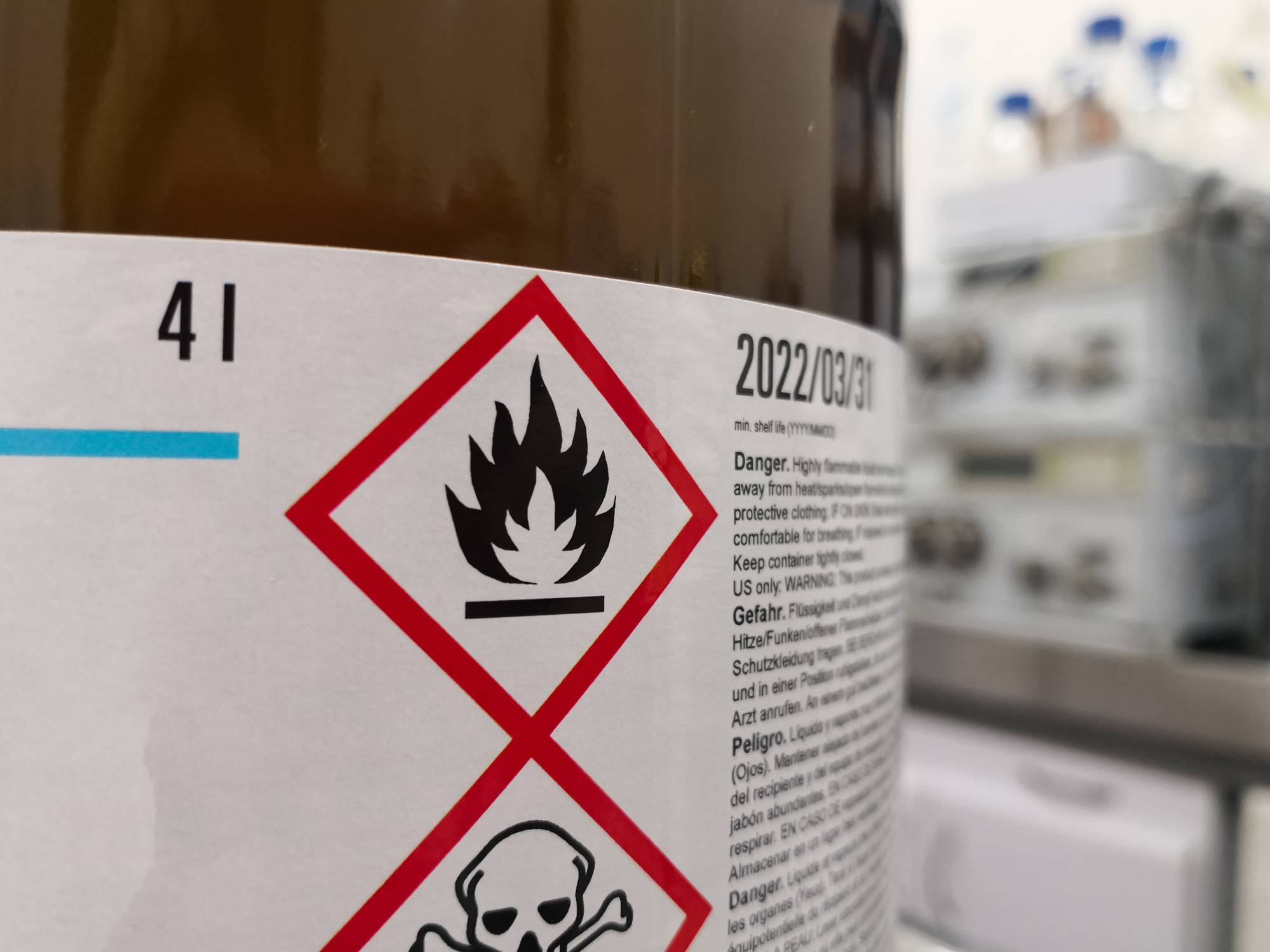 stockage produits inflammables