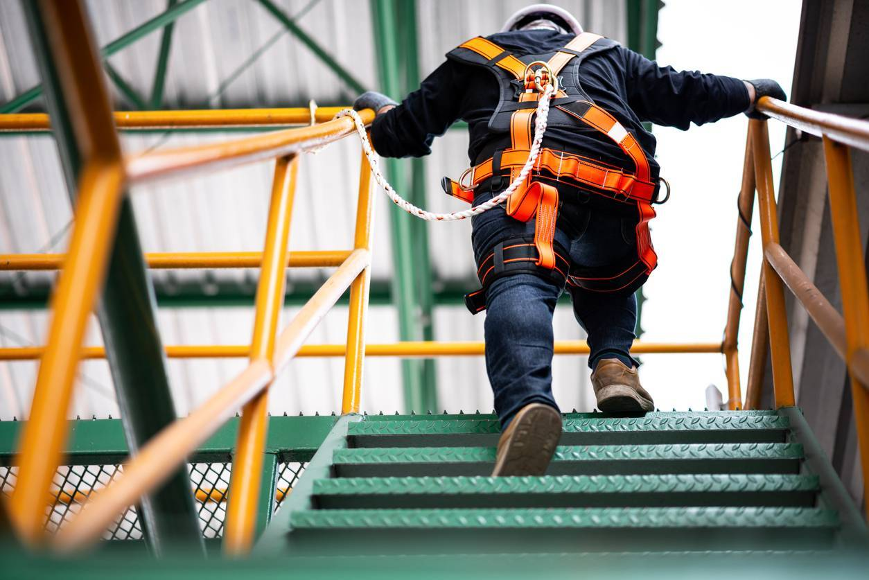 travail hauteur équipement protection